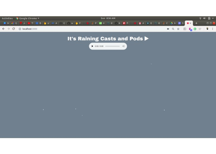 It's Raining Casts and Pods – screenshot 1