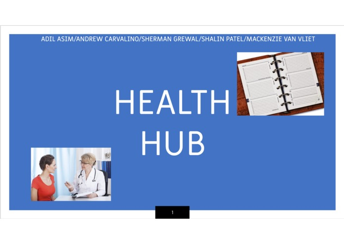 Health Hub – screenshot 1