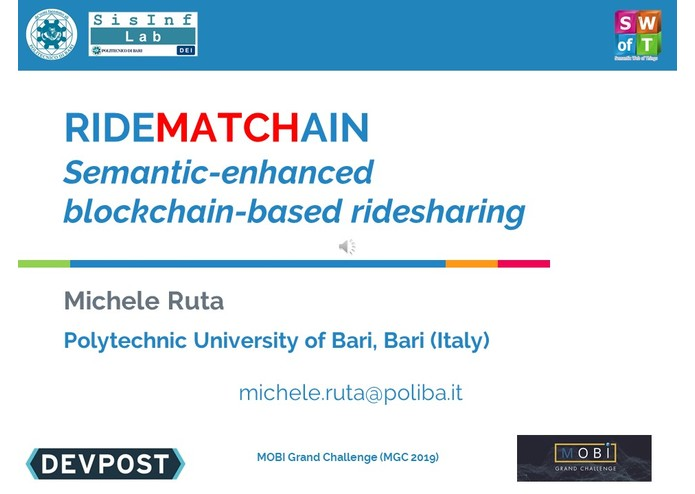 RideMATCHain – screenshot 1