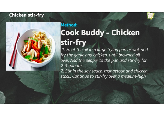 Cook Buddy – screenshot 2