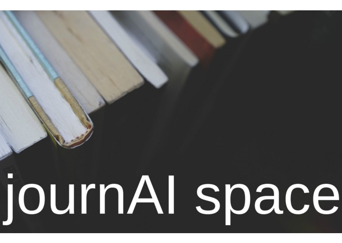 journAI space – screenshot 1