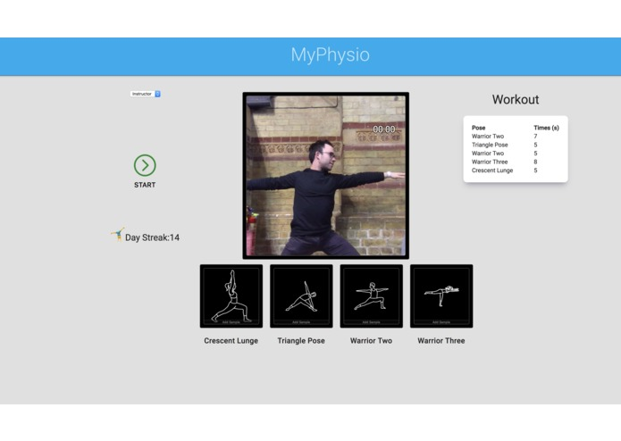 MyPhysio – screenshot 1