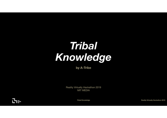 Tribal Knowledge – screenshot 1