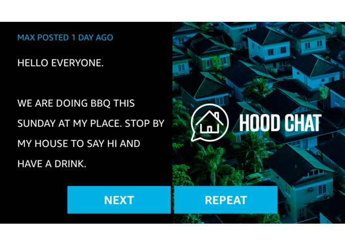 Hood Chat – screenshot 1