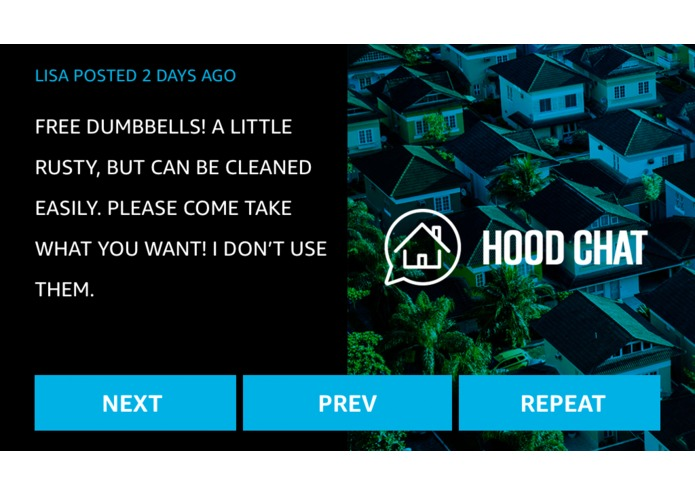 Hood Chat – screenshot 2