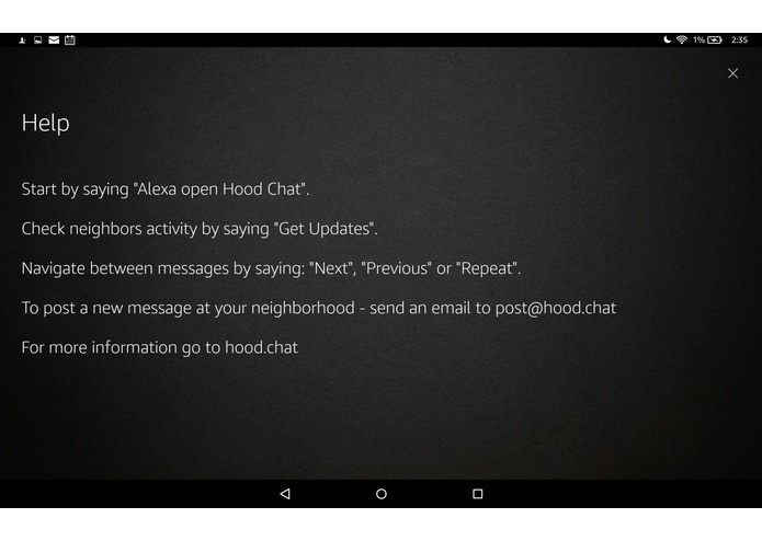 Hood Chat – screenshot 5