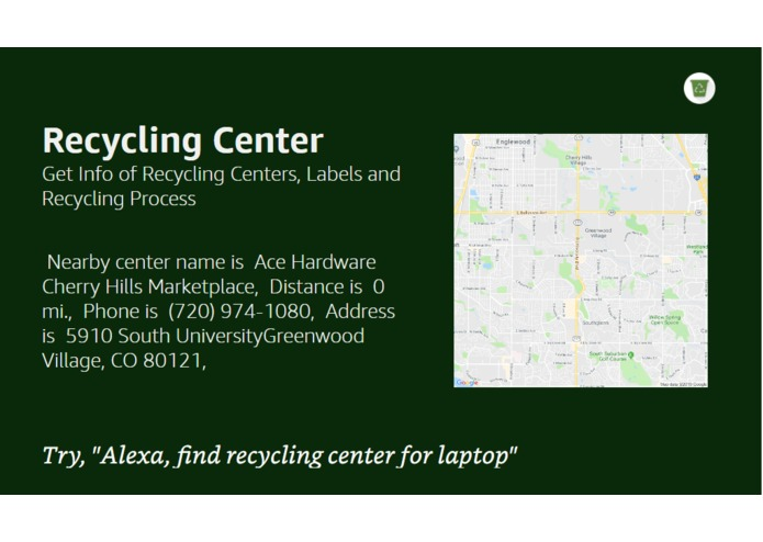 Recycling Center | Devpost