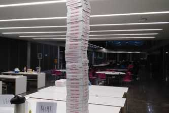 Pizza Box Tower