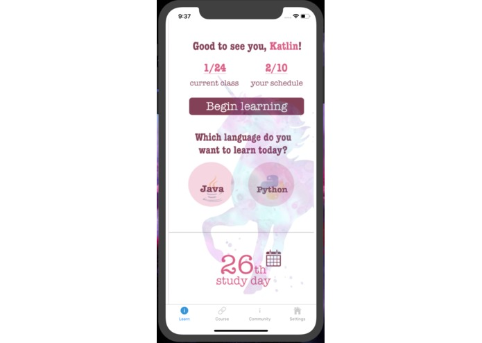 Unicol : an app designed for 15-25 young females – screenshot 3