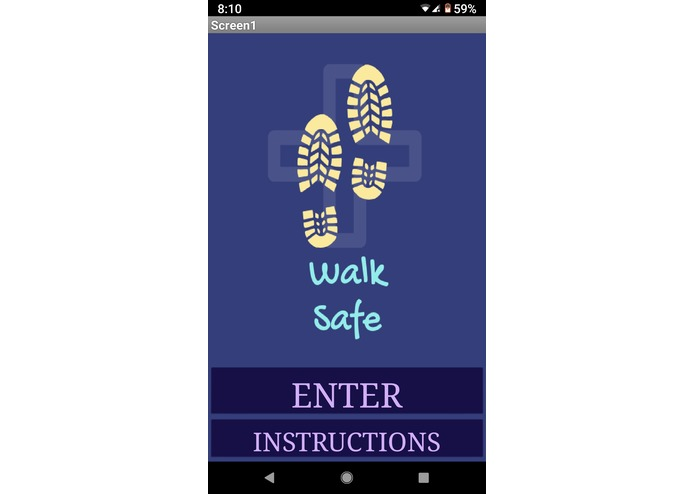 Walk_Safe – screenshot 1