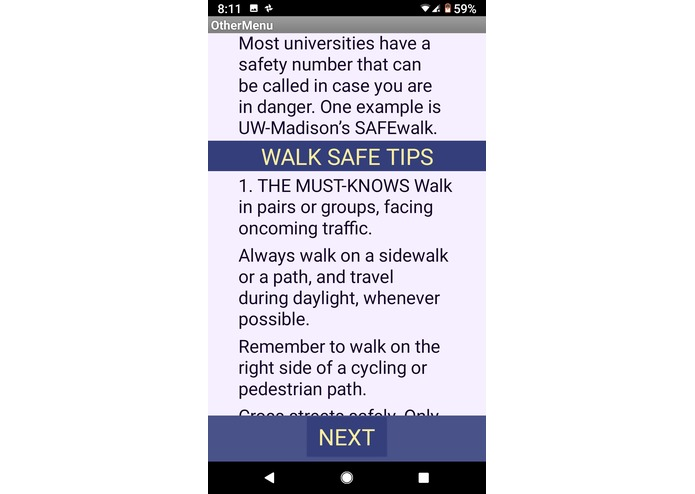 Walk_Safe – screenshot 5