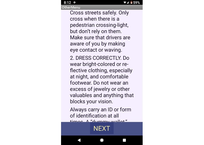 Walk_Safe – screenshot 7