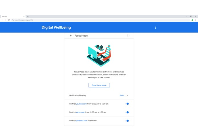Digital Wellbeing for Chrome – screenshot 6