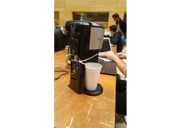 Electric Beans -- IoT Twitter Coffee Machine – screenshot 2