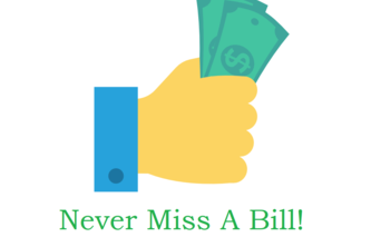 Never Miss A Bill!