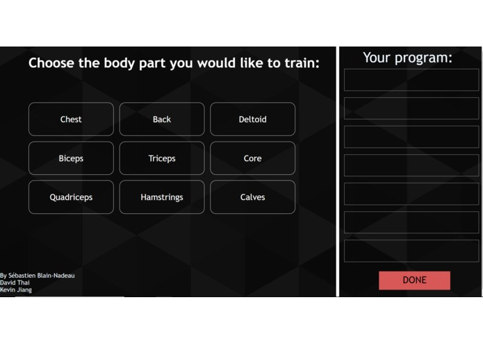 Lunchtime Fitness – screenshot 2