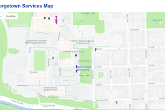 Georgetown Service Map
