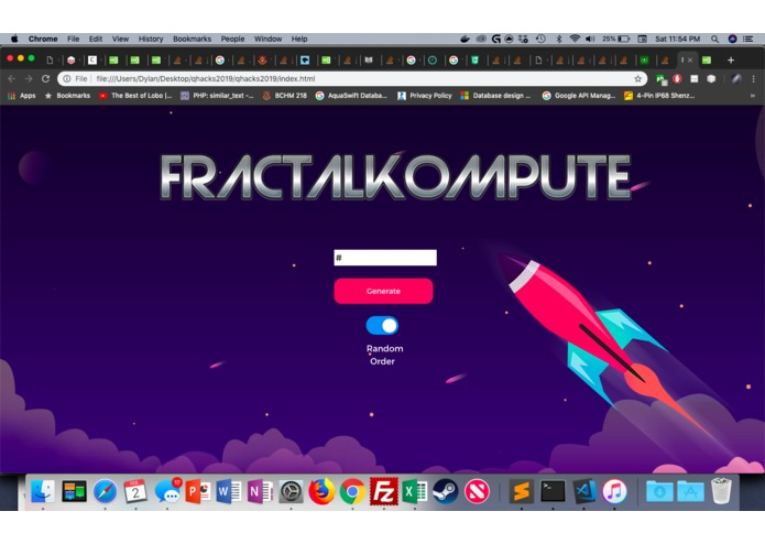 fractalKompute – screenshot 2