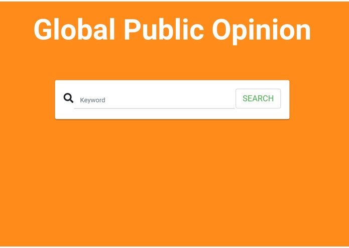 GlobalPublicOpinion – screenshot 1