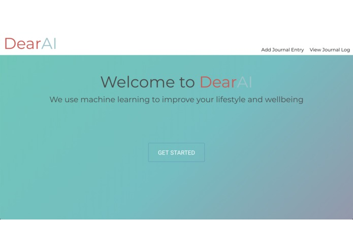 DearAI – screenshot 1