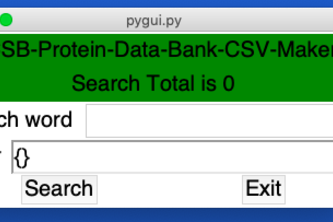 RCSB-Protein-Data-Bank-CSV-Maker
