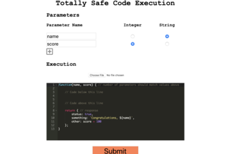 Totally Secure Code Execution