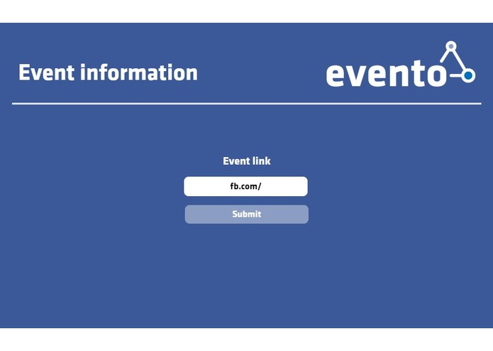 Evento – screenshot 3