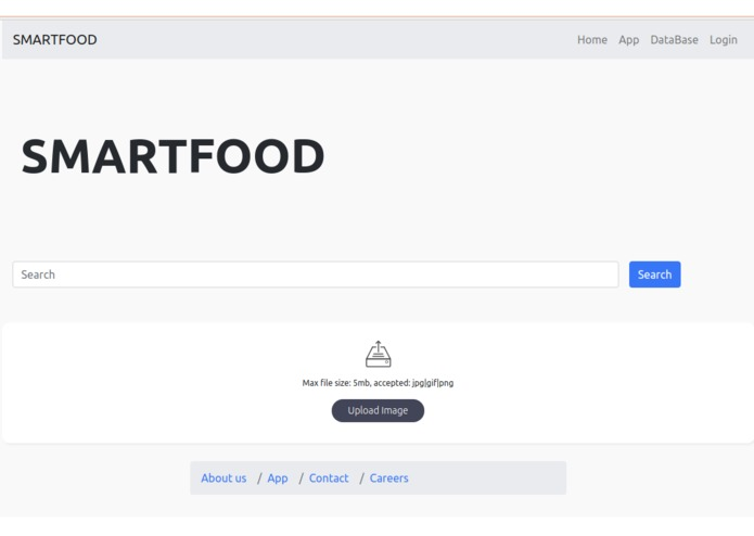 SmartFood – screenshot 2