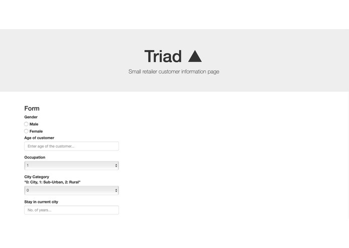 Triad – screenshot 1