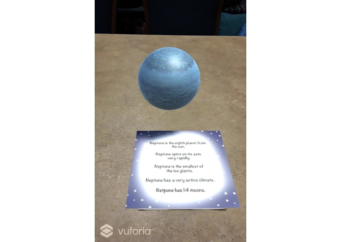 Blast Off Into Learning!: AR Planets Experience – screenshot 4