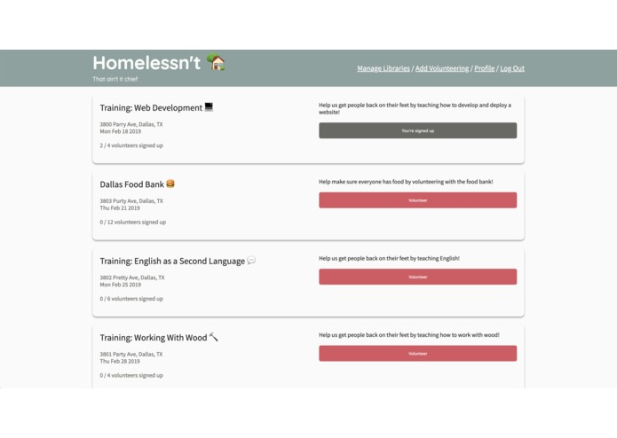 Homelessn't – screenshot 1