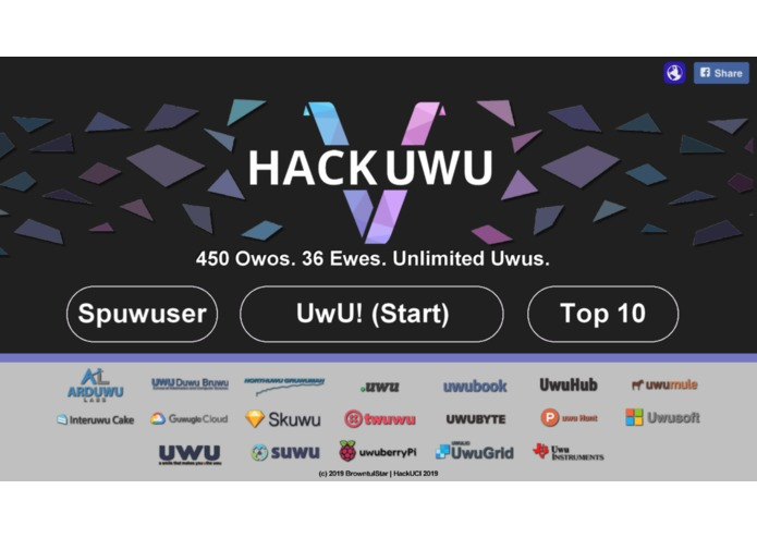 HackUWU – screenshot 1