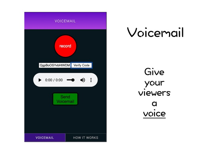 Voicemail – screenshot 1