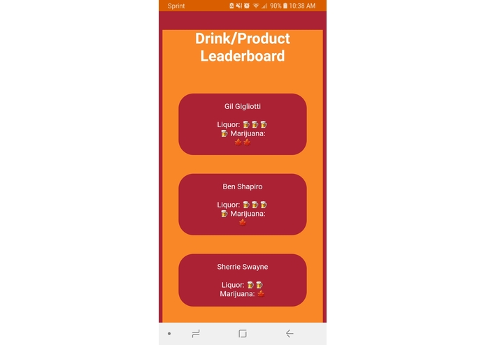 UI for Constellation Brands products – screenshot 3