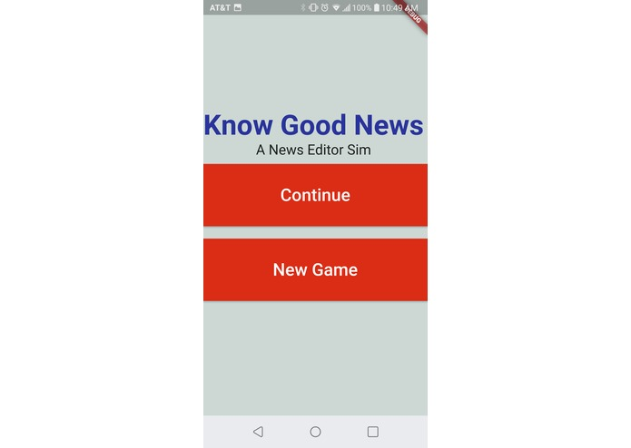 Know Good News – screenshot 1