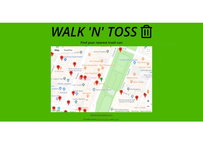 Walk 'N' Toss – screenshot 1