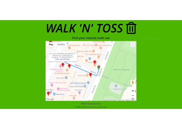 Walk 'N' Toss – screenshot 2