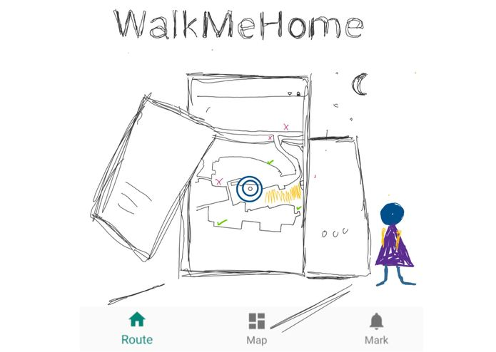 WalkMeHome – screenshot 1