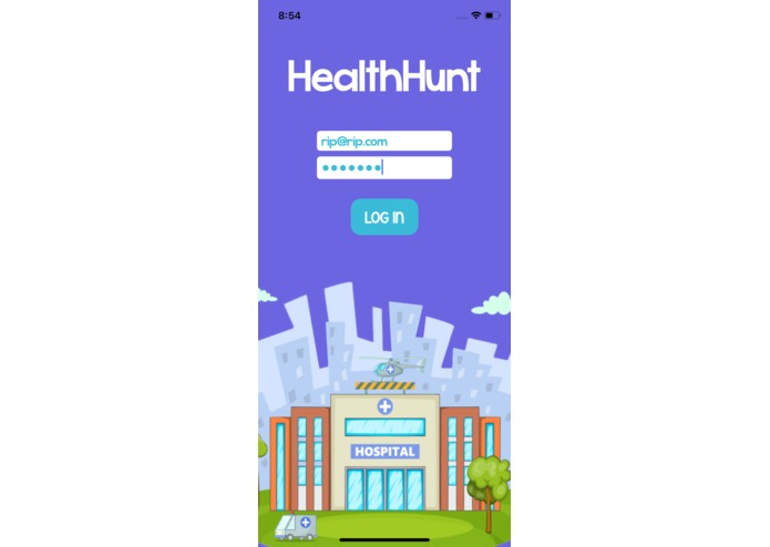 HealthHunt AR – screenshot 1