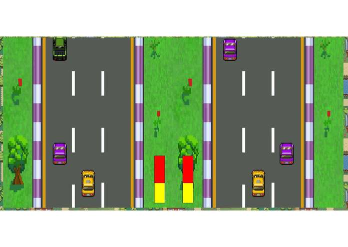 Mayhem Taxi Racing – screenshot 1