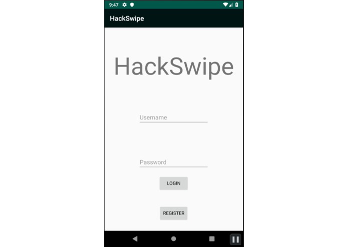HackSwipe – screenshot 1