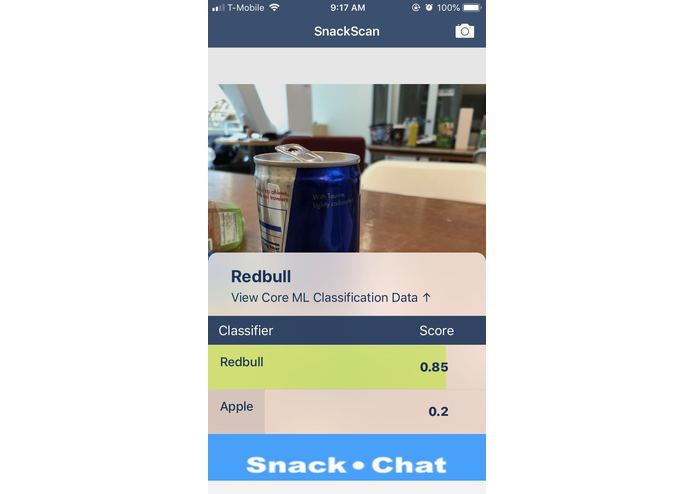 SnackChat – screenshot 5
