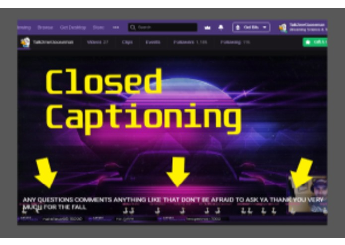 Stream Closed Captioner – screenshot 2