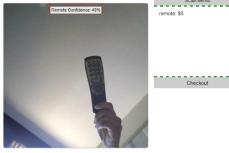 Camera Object Recognition Shopping Webapp