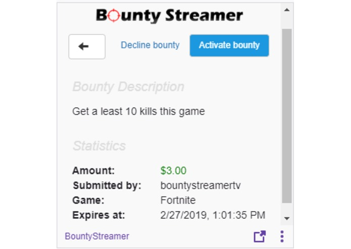 BountyStreamer – screenshot 4
