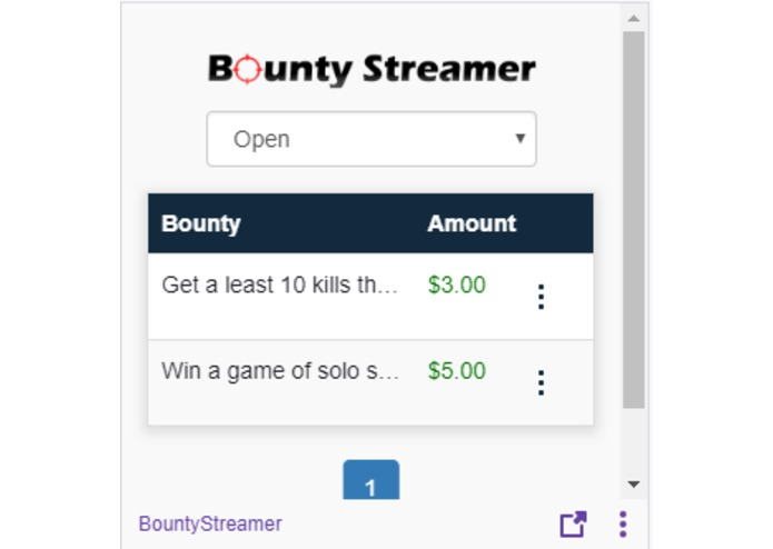 BountyStreamer – screenshot 1