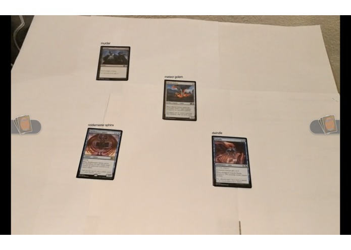 Image recognition & card analysis for tabletop games – screenshot 1