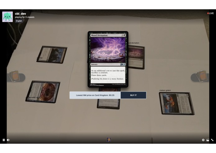 Image recognition & card analysis for tabletop games – screenshot 3