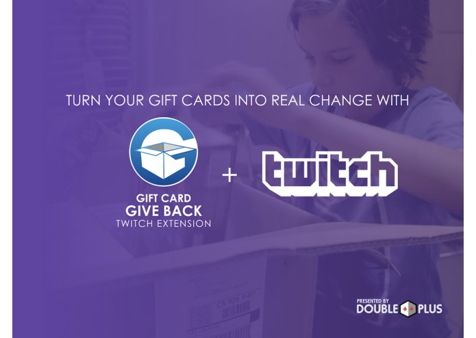 The Gift Card Give Back Twitch Extension – screenshot 4