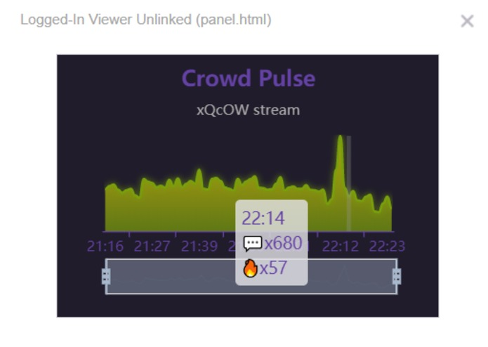 Crowd Pulse for Twitch – screenshot 1